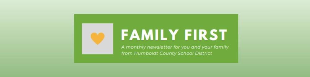 Family First - March Newsletter