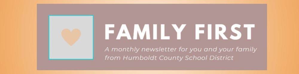 Family First - January Newsletter
