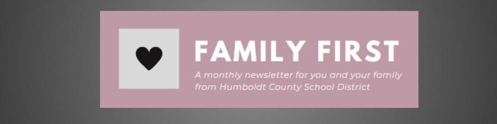 Family First - April Newsletter