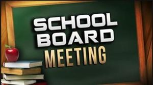 School Board Agenda - Cancelled