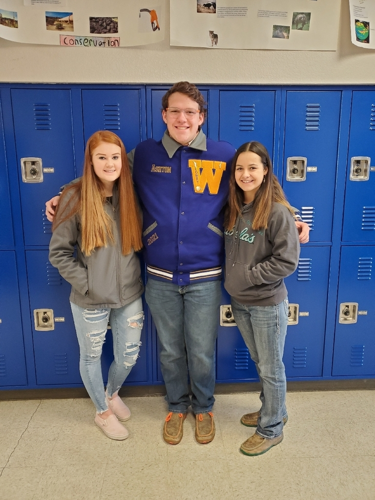 Allison Aitken, Ashton Kalkoske and Sierra Fears